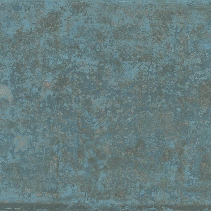 GRUNGE BLUE LAPPATO