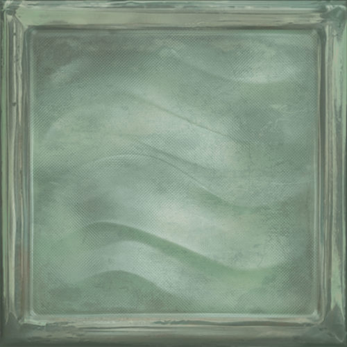 GLASS GREEN VITRO
