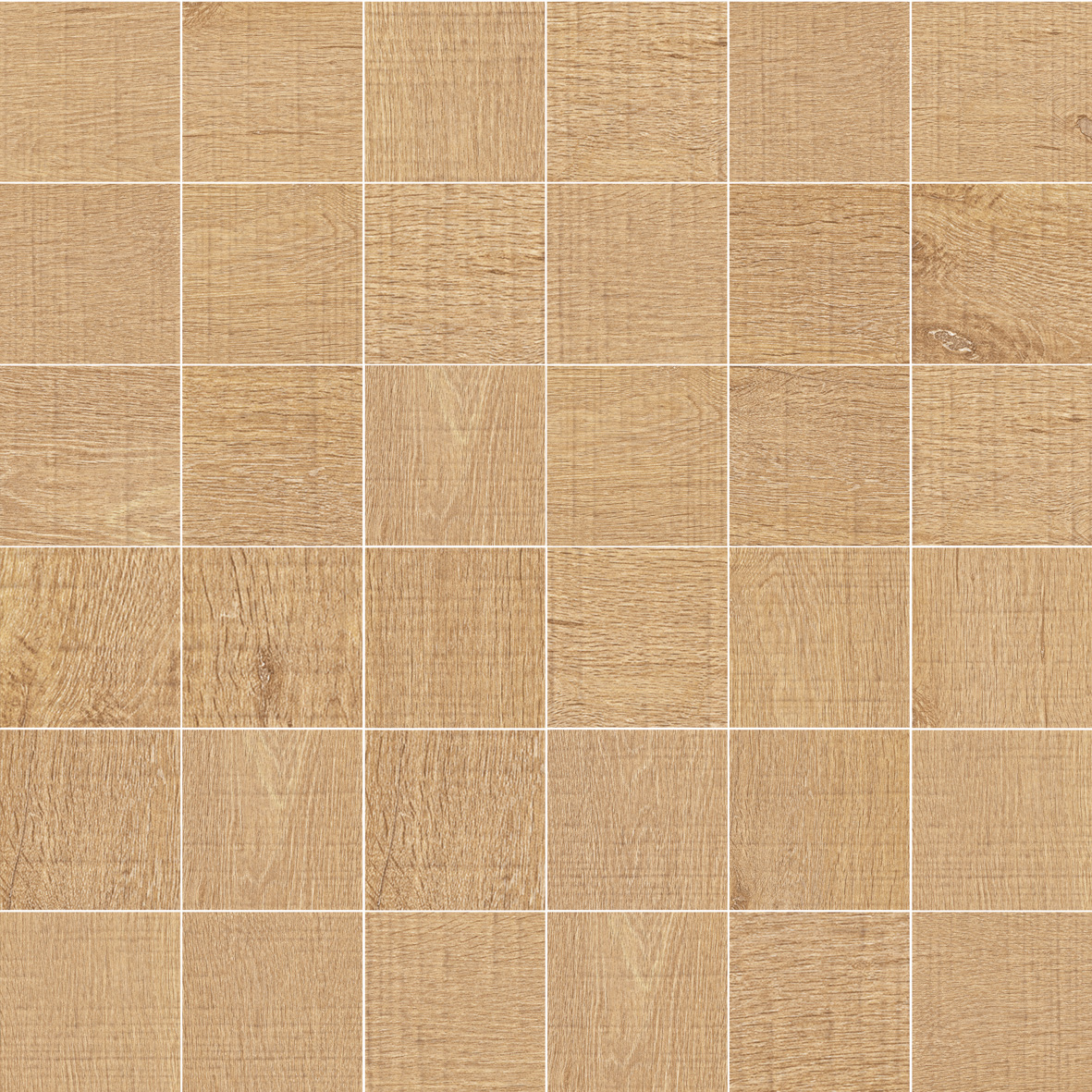 NORWAY OAK NATURAL MOSAICO 5X5