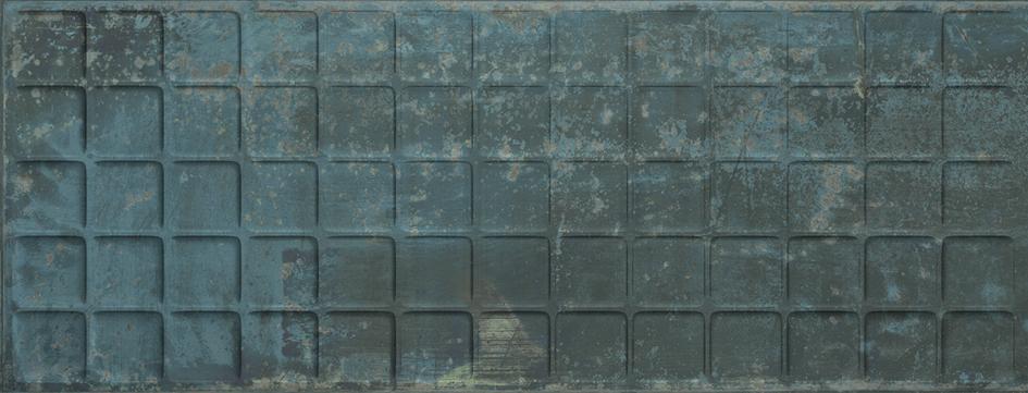 GRUNGE BLUE SQUARE