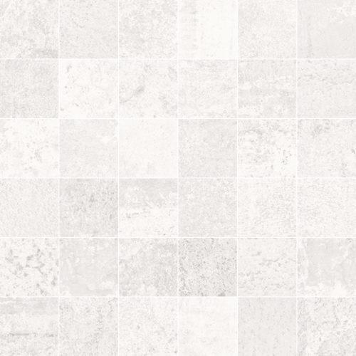METALLIC WHITE NAT. MOSAICO 5X5