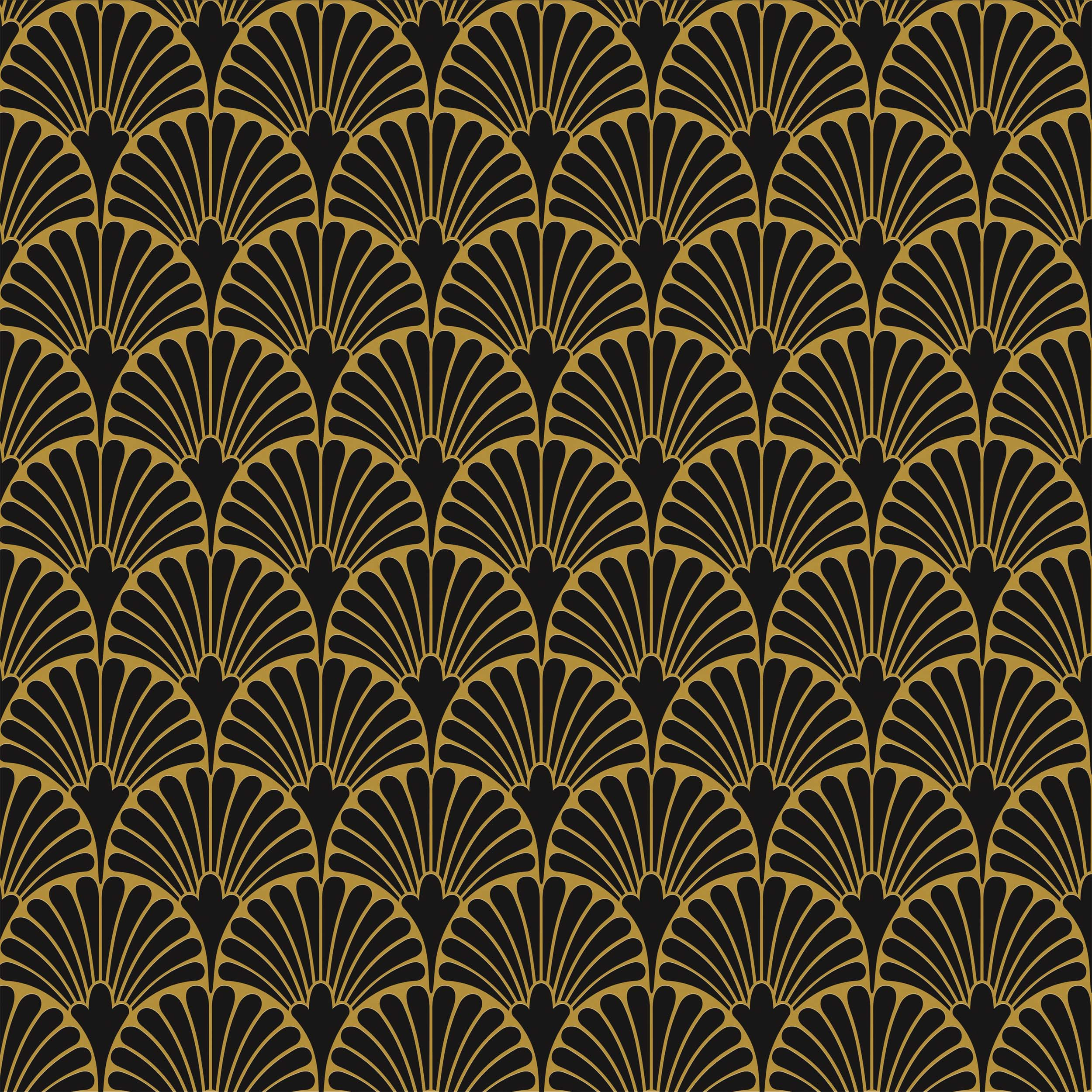 ART-DECO BLACK MANHATTAN NATURAL