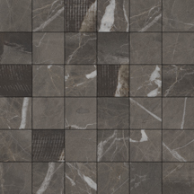 DSTONE ANTHRACITE MOON NATURAL MOSAICO 5X5